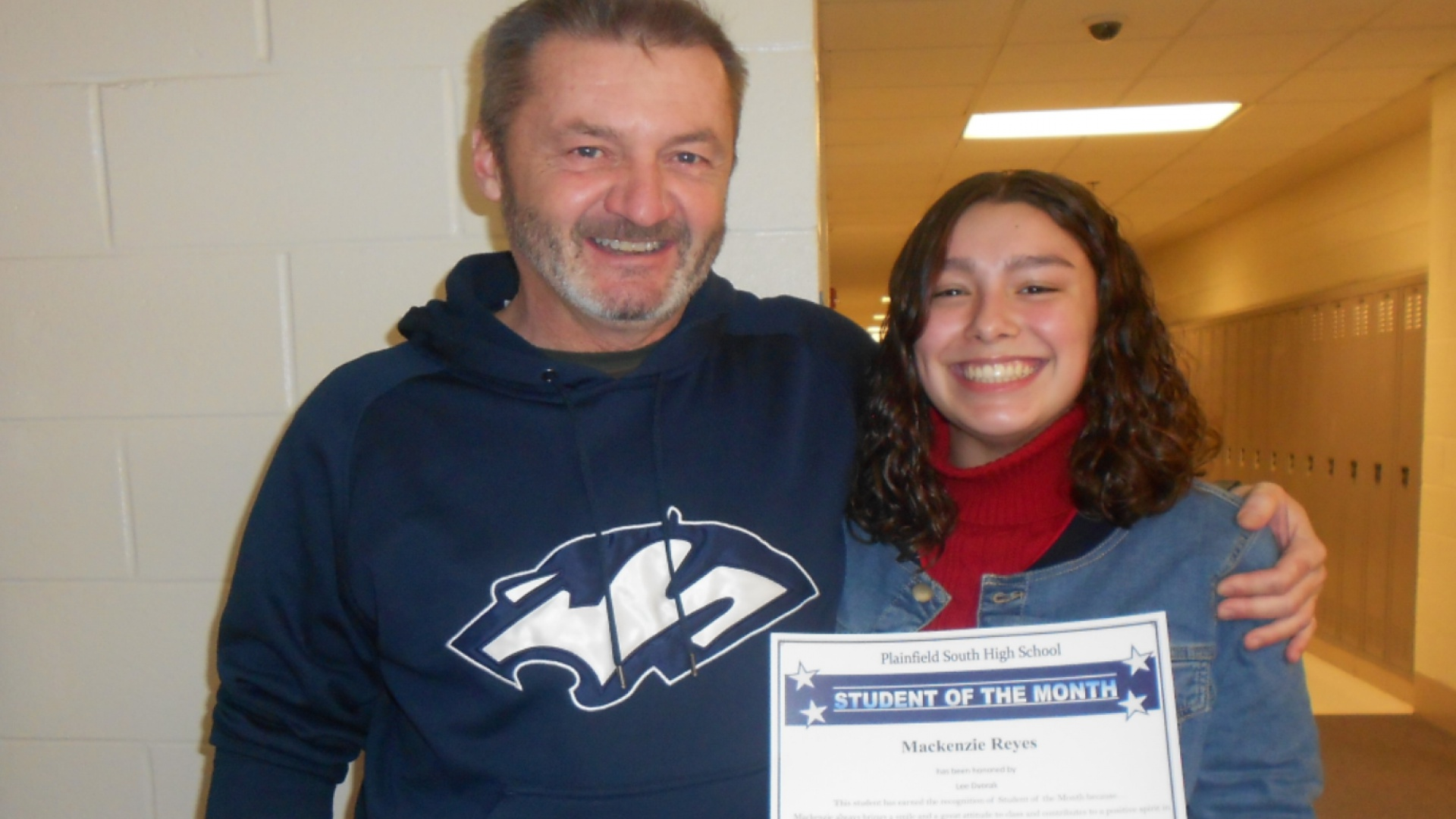 Student of the Month Mackenzie Reyes